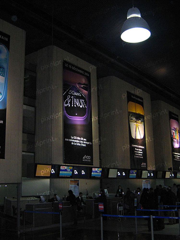Sillo Aeroport de Nice L500xH1000cm